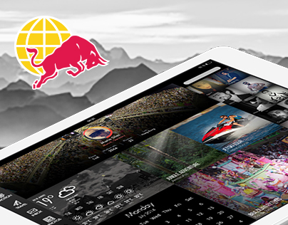 Red Bull Travel / Web – App Concept