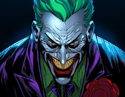 Joker headshot.