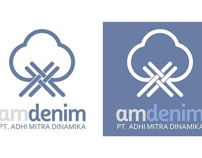 Logo design for AM Denim