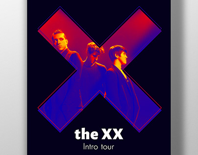 """Poster """"the XX"""""""