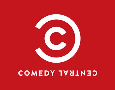 Billboard For Comedy Central's New Season