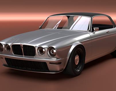 """Restomod"" Jaguar design"