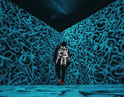 NIKE ╳ Pokras Lampas: 3D Calligraphy Art Object