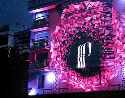 ANIMATION / VIDEO MAPPING / Hotel 314 Cannes