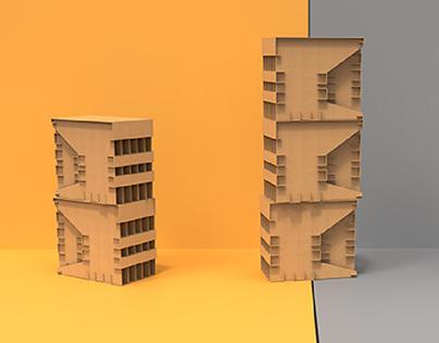 Modul - Cardboard Furniture