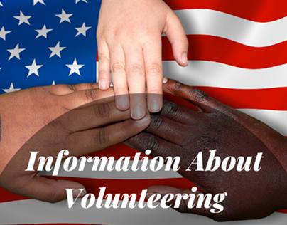 information about volunteering