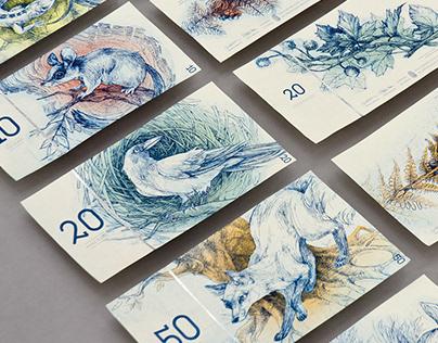 Hungarian paper money