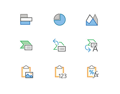 Icons for Microsoft Office