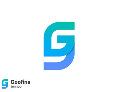 Goofine Logo Design | (G+J) Letter Mark