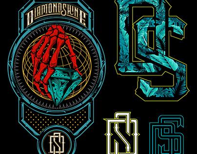 visual graphic brand diamondshine