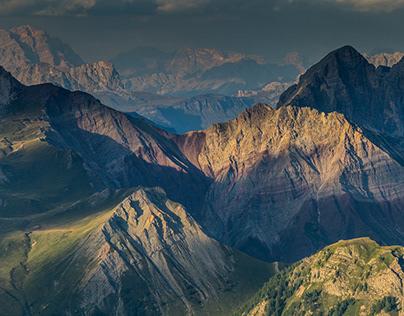 Col Margherita. Dolomites. Italy