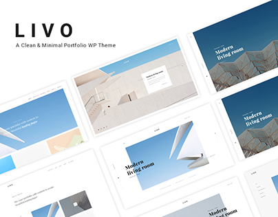 Livo - A Clean & Clear Wordpress Theme