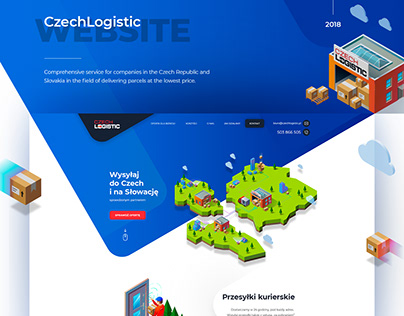 CzechLogistic Website