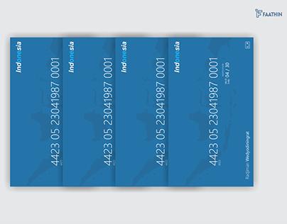 Re-Design Republic of Indonesia Identity Card