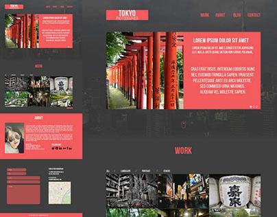 Template PSD - Tokyo