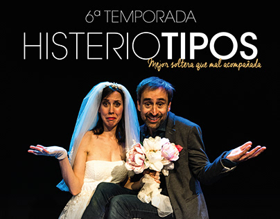"""Promotional poster for Theatre Play """"Histeriotipos"""""""