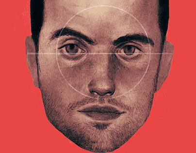 portrait of Giuseppe Rossi for Soccer Illustrated