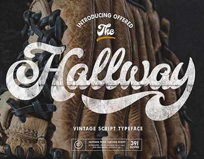 Hallway Typeface