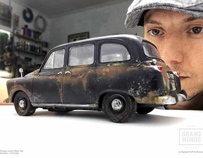 Abandoned London Cabbie