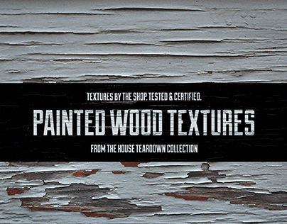 The Painted wood textures