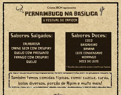 V festival de tapioca BICM