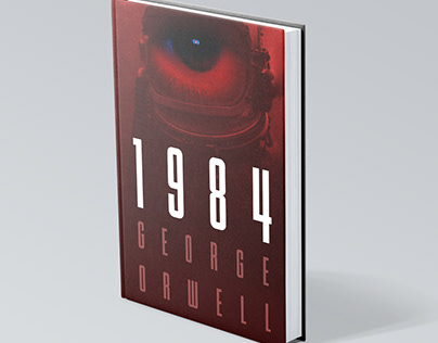 1984. George Orwell. Book cover design concepts.