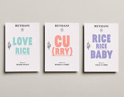 REYHANI - Branding