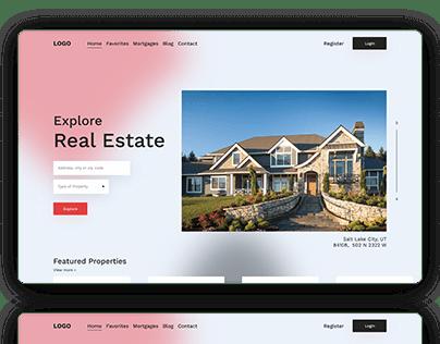 Salt Lake Real Estate -Redesign