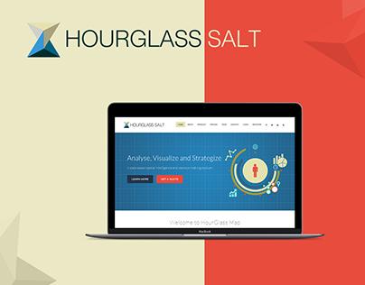 Big Data Hourglass / Dashboard - UX/UI Design