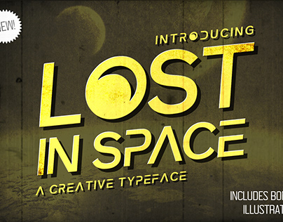 Lost in Space Typeface