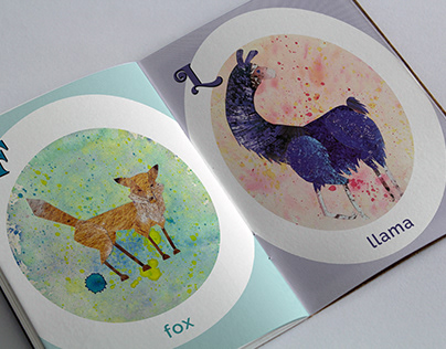 Animal Letters Book