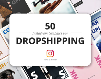50 Instagram Dropshipping Graphics