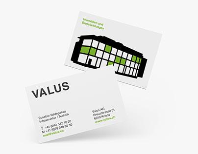 Branding VALUS AG