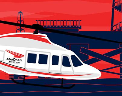 Abu Dhabi Aviation video