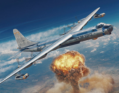 """Peacemaker"" B-36 - Aerojournal cover illustration"