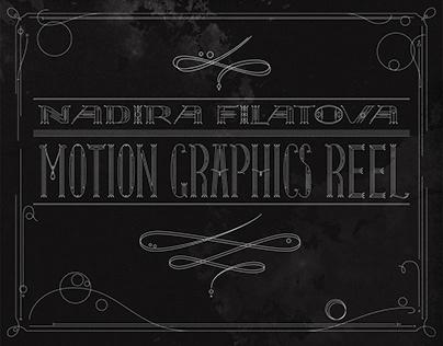 Motion Graphics Reel 2020
