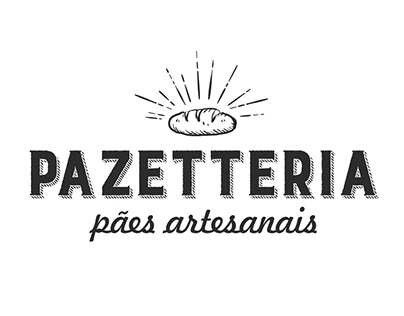 Pazetteria - Logo e Cartão