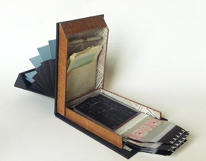 Polaroid handmade book