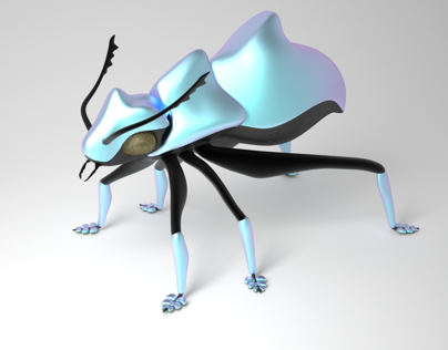 3D Modeling Insects