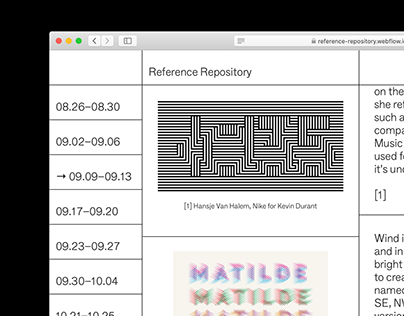 Reference Repository
