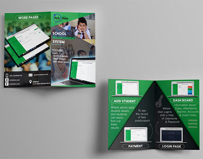 Brochure Projects Photos Videos Logos Illustrations And Branding On Behance