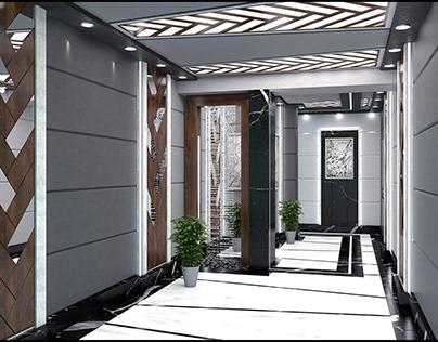 Building Lobby Interior Design
