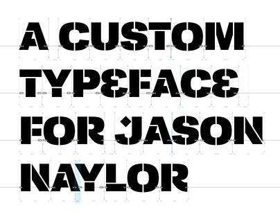 Naylor Stencil Font