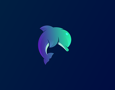 Every week new animal | 7 Dolphin logos