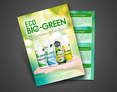 ECO Bio Green - Volante formato A5