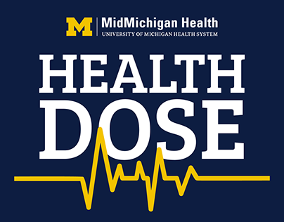 Health Dose Podcast Logo