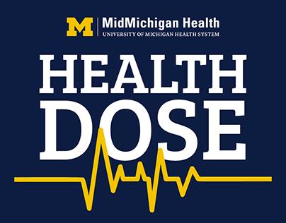 Health Dose Podcast Logo