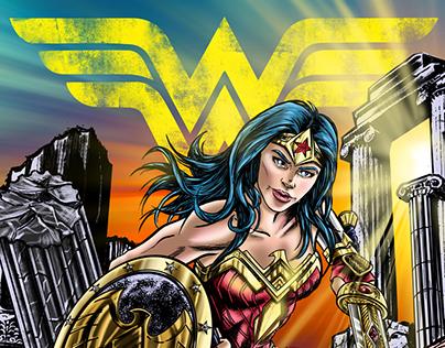 Wonder Woman - Comic Art