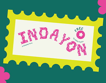 Indayon - A Free Display Font