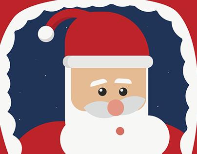 Santa In Egypt